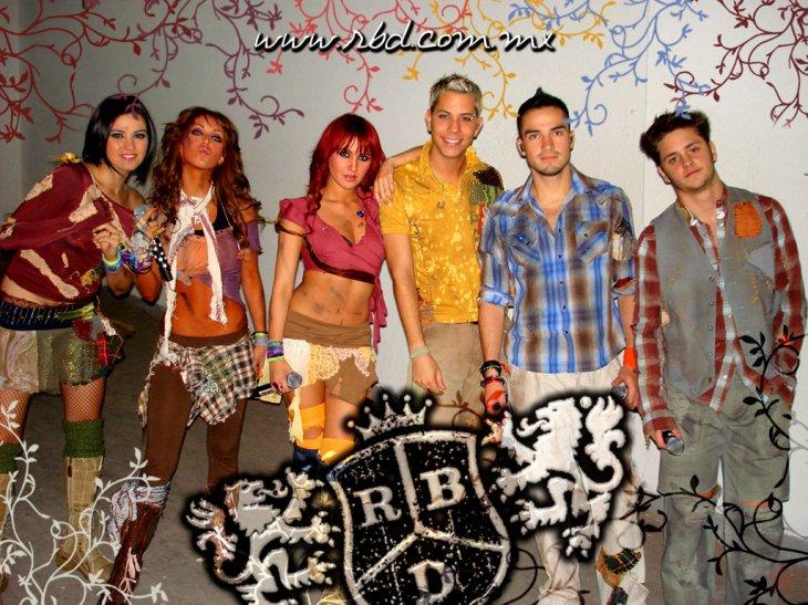 RBD - teksty piosenek