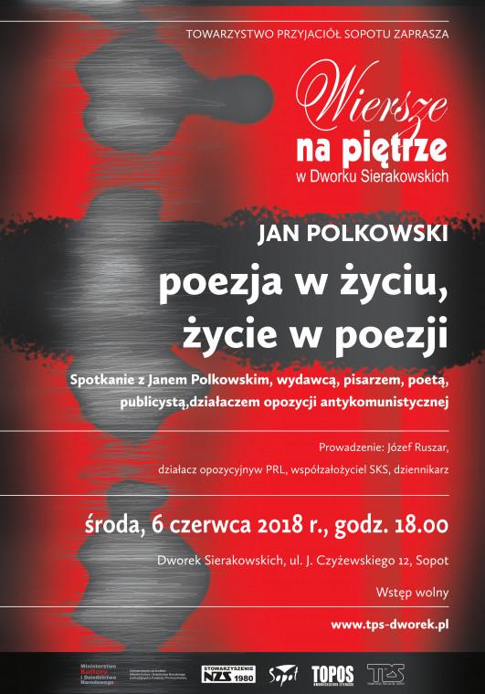Jan Polkowski Spotkanie Poetyckie Wiersze Na Piętrze