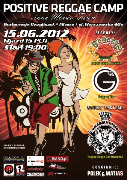 Positive Reggae Camp inna Mława Town